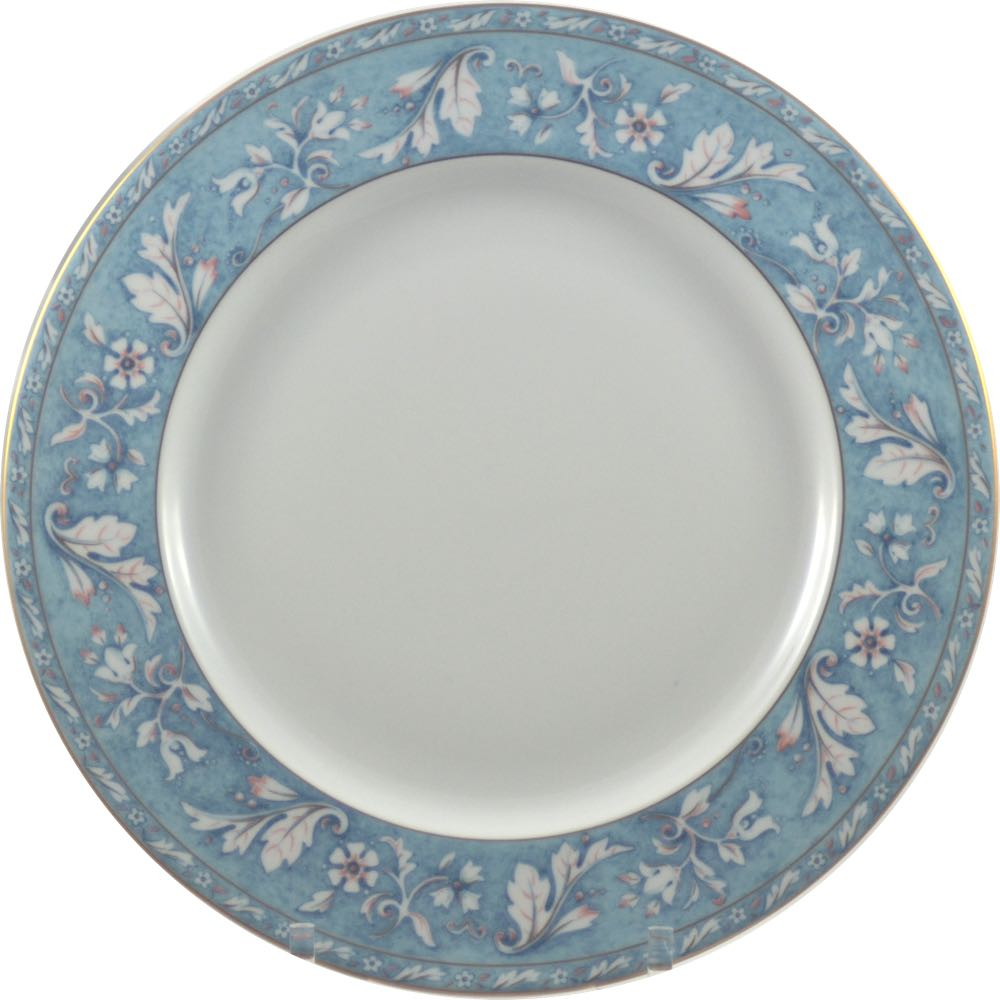 Home ...  sc 1 st  Porcelain Gallery & Philippe Deshoulieres Acanthe Blue Dinner Plate - Porcelain Gallery